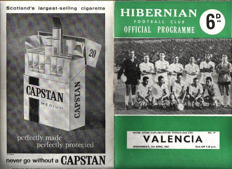 Хиберниан (Шотландия) - Валенсия (Испания) 2:1. Нажмите, чтобы посмотреть истинный размер рисунка