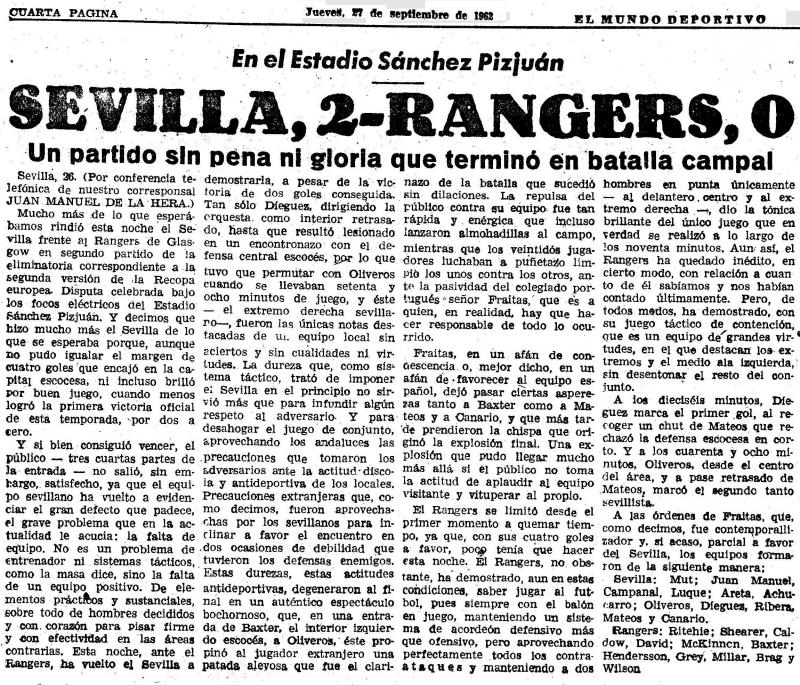 Севилья (Испания) - Глазго Рейнджерс (Шотландия) 2:0. Нажмите, чтобы посмотреть истинный размер рисунка