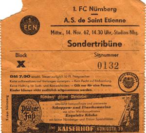 Нюрнберг (Германия) - Сент-Этьен (Франция) 3:0