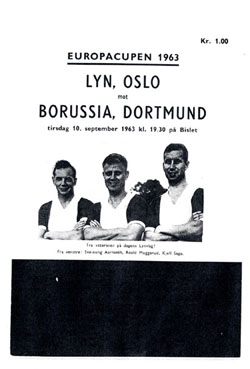 Люн (Норвегия) - Боруссия Д (Германия) 2:4