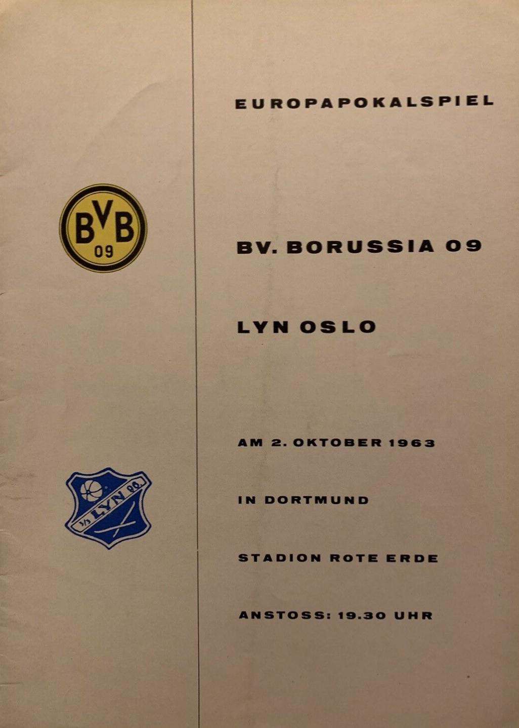 Боруссия Дортмунд (Германия) - Люн (Норвегия) 3:1. Нажмите, чтобы посмотреть истинный размер рисунка