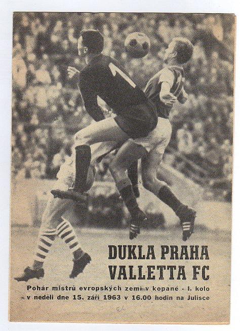 Дукла Прага (Чехословакия) - Валетта (Мальта) 6:0