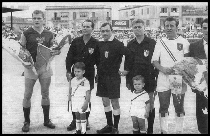 Валетта (Мальта) - Дукла Прага (Чехословакия) 0:2