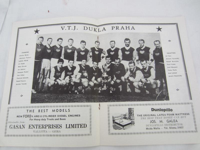 Валетта (Мальта) - Дукла Прага (Чехословакия) 0:2. Нажмите, чтобы посмотреть истинный размер рисунка