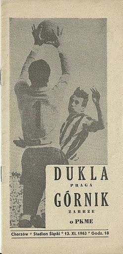 Гурник Забже (Польша) - Дукла Прага (Чехословакия) 2:0