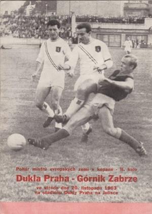 Дукла Прага (Чехословакия) - Гурник Забже (Польша) 4:1