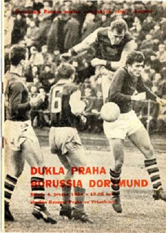 Дукла Прага (Чехословакия) - Боруссия Д (Германия) 0:4