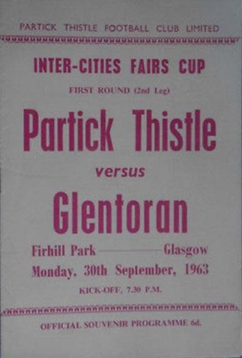 Партик Тистл (Шотландия) - Гленторан (Северная Ирландия) 3:0