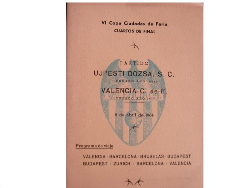 Уйпешт Дожа (Венгрия) - Валенсия (Испания) 3:1