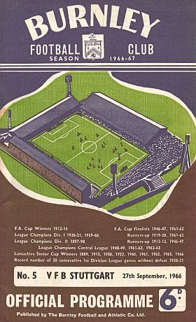 Барнли (Англия) - Штутгарт (Германия) 2:0