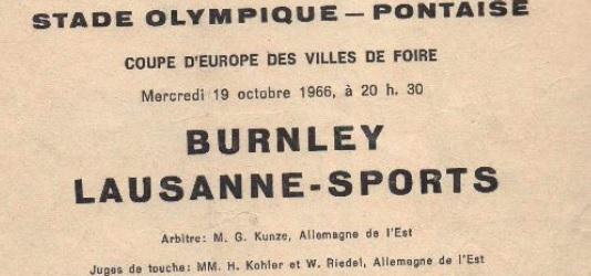 Лозанна Спорт (Швейцария) - Барнли (Англия) 1:3