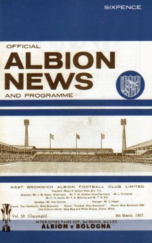 Вест Бромвич Альбион (Англия) - Болонья (Италия) 1:3