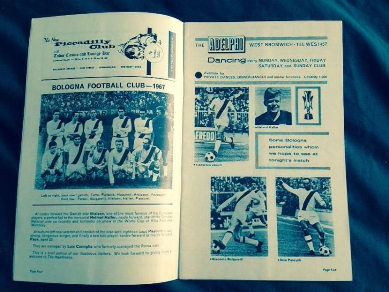 Вест Бромвич Альбион (Англия) - Болонья (Италия) 1:3. Нажмите, чтобы посмотреть истинный размер рисунка