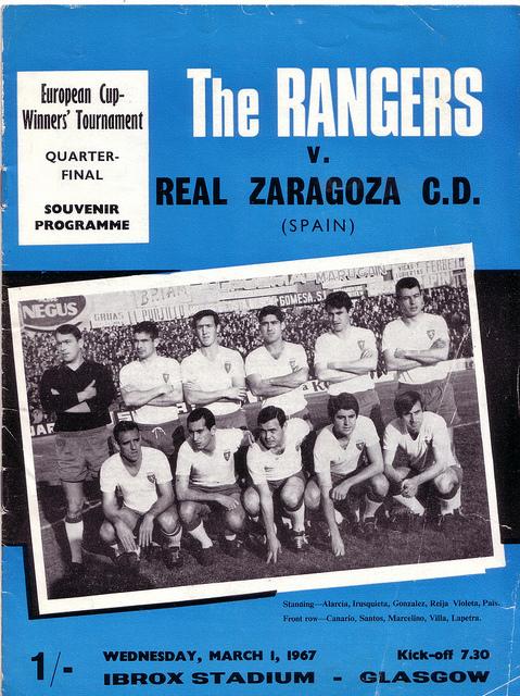 Глазго Рейнджерс (Шотландия) - Сарагоса (Испания) 2:0