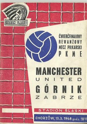 Гурник Забже (Польша) - Манчестер Юнайтед (Англия) 1:0