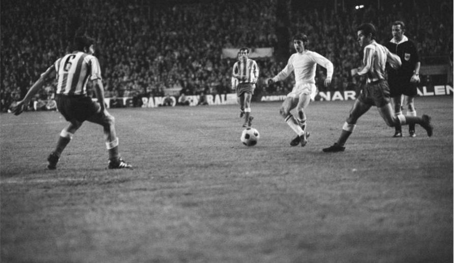 Атлетико (Испания) - Аякс (Голландия) 1:0