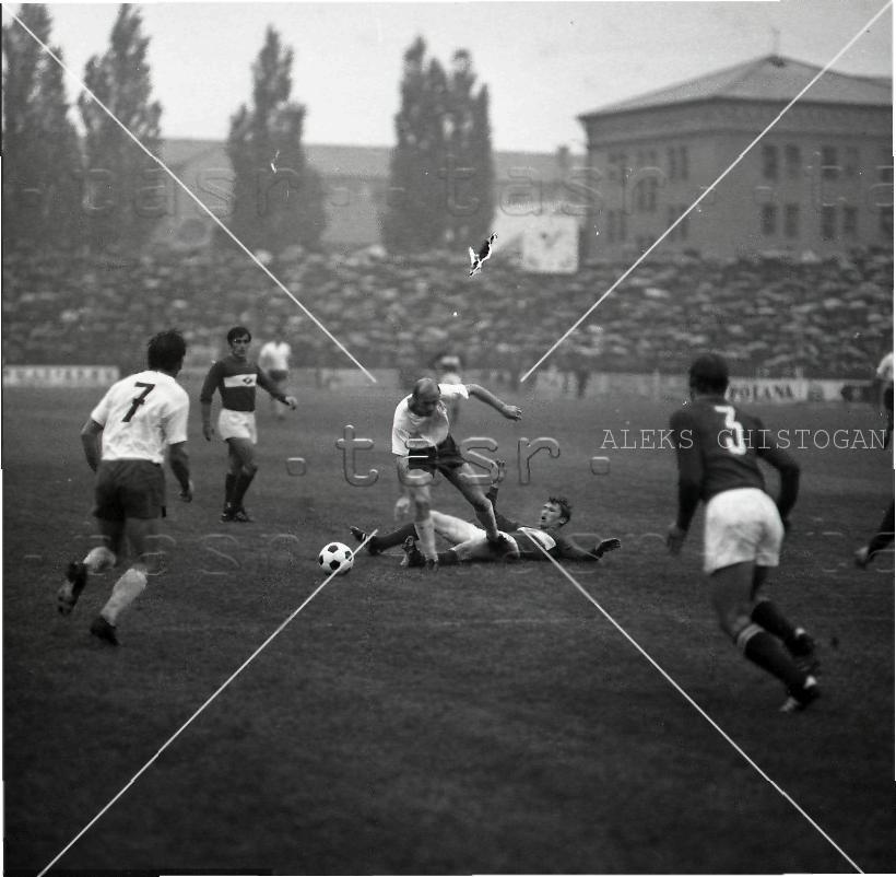 Кошице (Чехословакия) - Спартак (СССР) 2:1