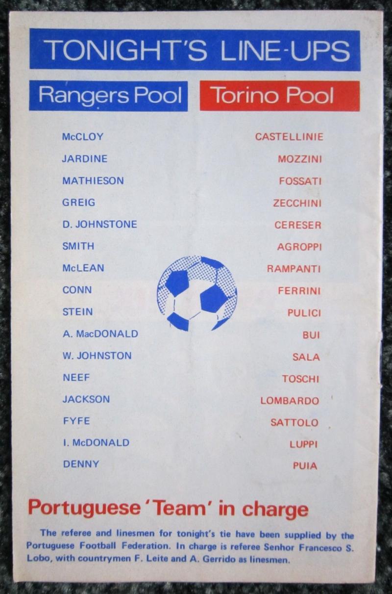 Глазго Рейнджерс (Шотландия) - Торино (Италия) 1:0. Нажмите, чтобы посмотреть истинный размер рисунка