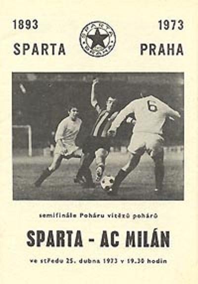 Спарта (Чехословакия) - Милан (Италия) 0:1