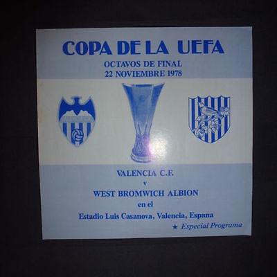 Валенсия (Испания) - Вест Бромвич Альбион (Англия) 1:1