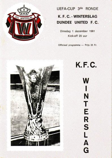 Винтерслаг (Бельгия) - Данди Юнайтед (Шотландия) 0:0
