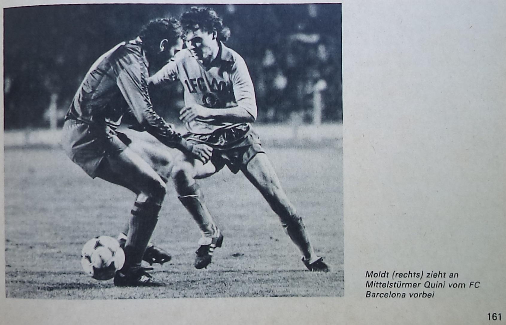 Локомотив Лейпциг (ГДР) - Барселона (Испания) 0:3