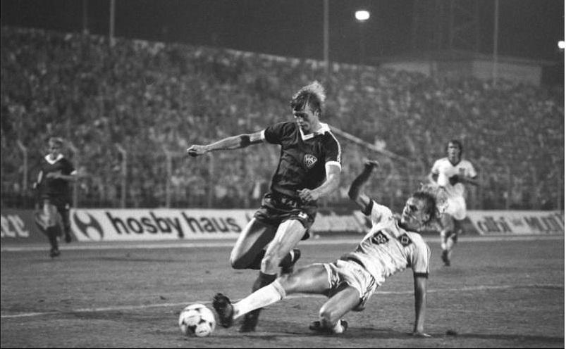 Динамо Берлин (ГДР) - Гамбург (Германия) 1:1