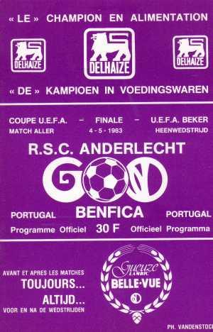 Андерлехт (Бельгия) - Бенфика (Португалия) 1:0