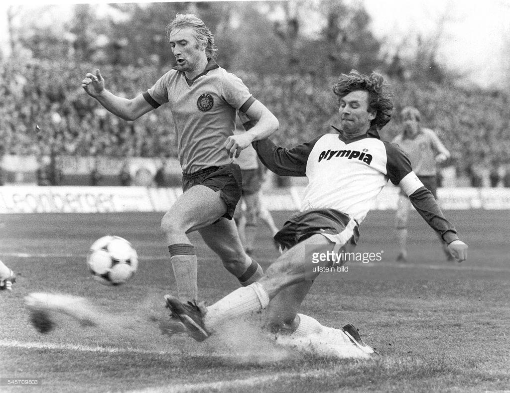 Локомотив Лейпциг (ГДР) - Вердер (Германия) 1:0