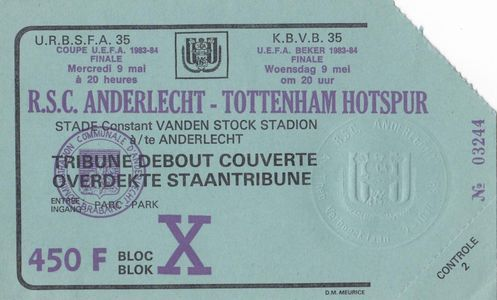 Андерлехт (Бельгия) - Тоттенхэм (Англия) 1:1