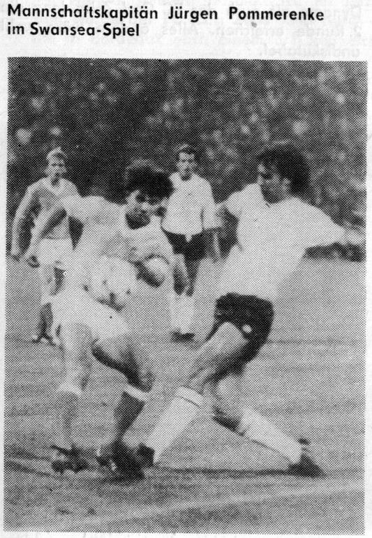 Магдебург (ГДР) - Суонси Сити (Уэльс) 1:0