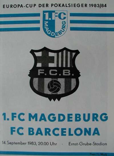 Магдебург (ГДР) - Барселона (Испания) 1:5
