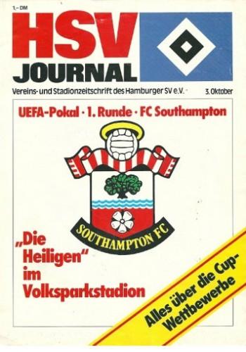 Гамбург (Германия) - Саутгемптон (Англия) 2:0