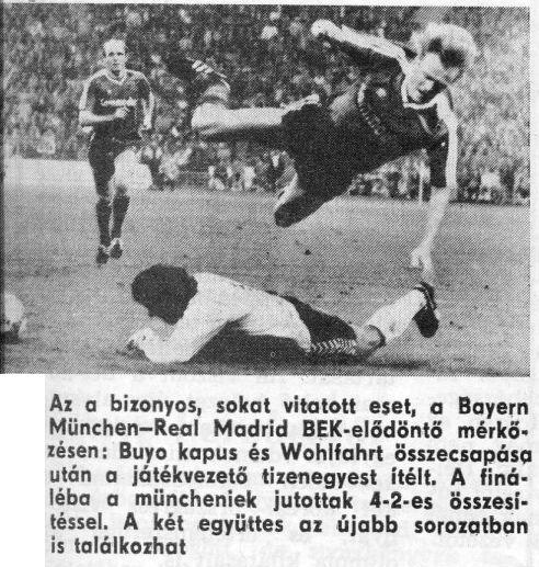 Реал Мадрид (Испания) - Бавария (Германия) 1:0
