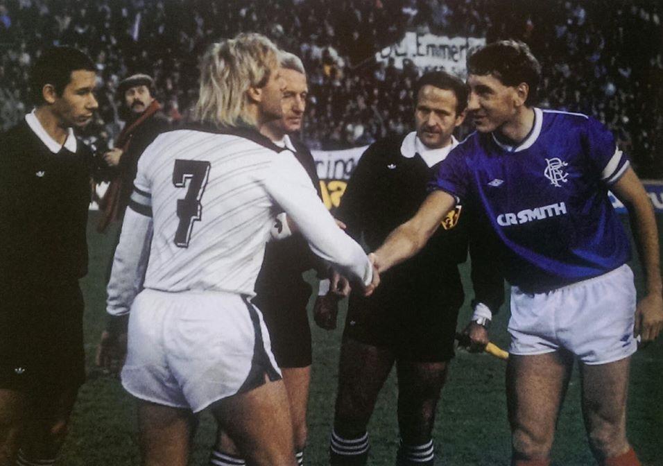 Боруссия Мёнхенгладбах (Германия) - Глазго Рейнджерс (Шотландия) 0:0