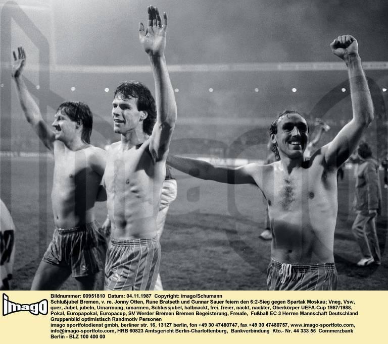 Вердер (Германия) - Спартак (СССР) 6:2 д.в.
