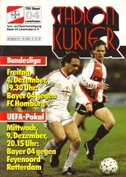 Байер (Германия) - Фейеноорд (Голландия) 1:0