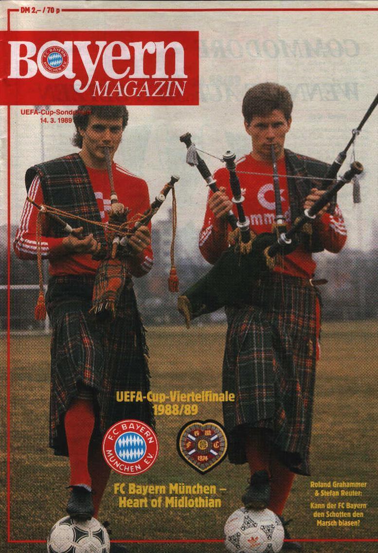Бавария (Германия) - Хартс (Шотландия) 2:0