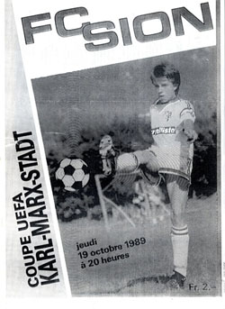 Сьон (Швейцария) - Хемниц (ГДР) 2:1