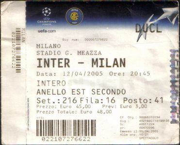 Интер (Италия) - Милан (Италия) -:+ тех.