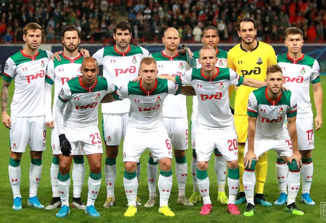 Локомотив (Россия) - Атлетико (Испания) 0:2. Нажмите, чтобы посмотреть истинный размер рисунка