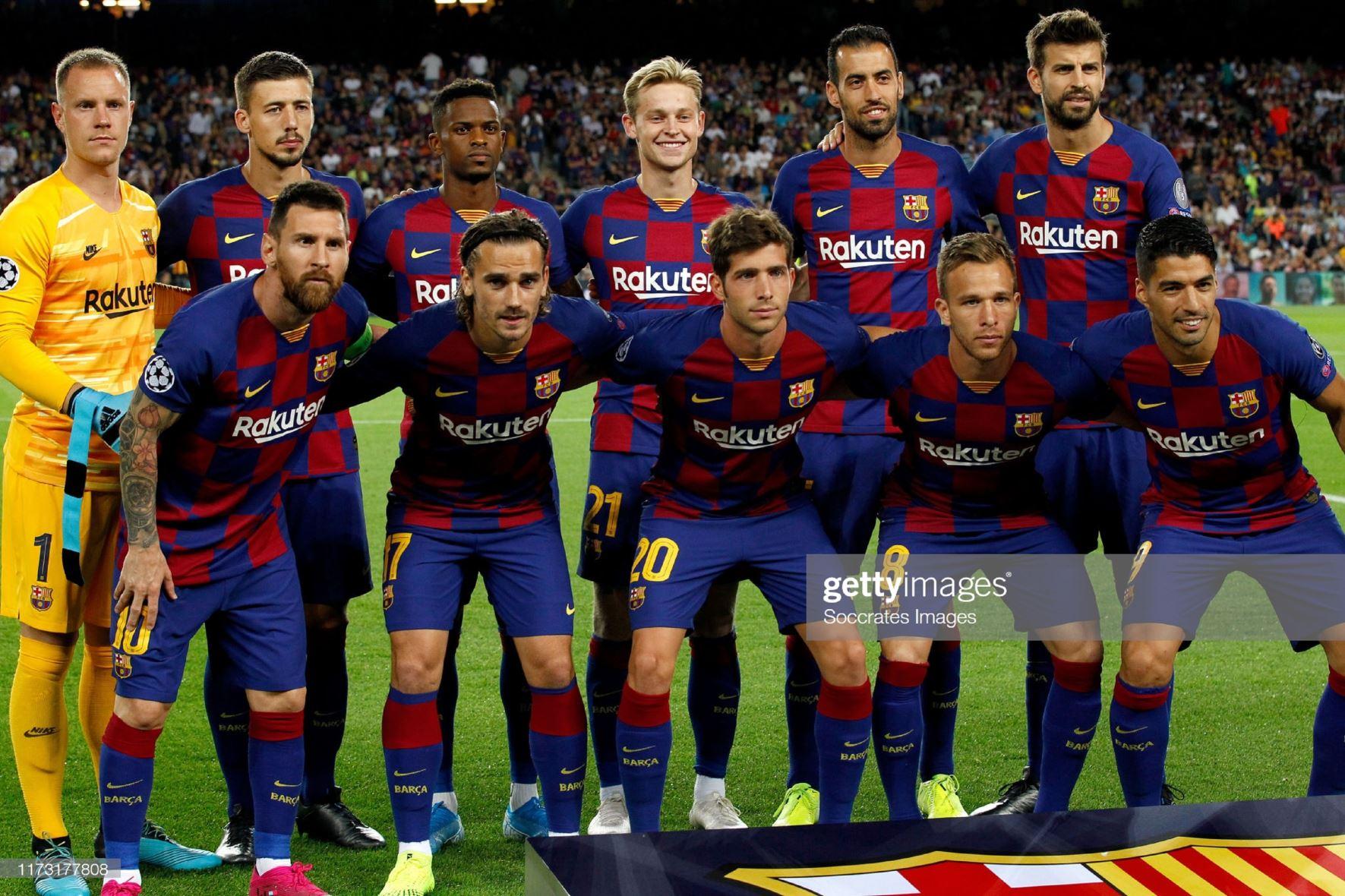 Барселона (Испания) - Интер (Италия) 2:1. Нажмите, чтобы посмотреть истинный размер рисунка