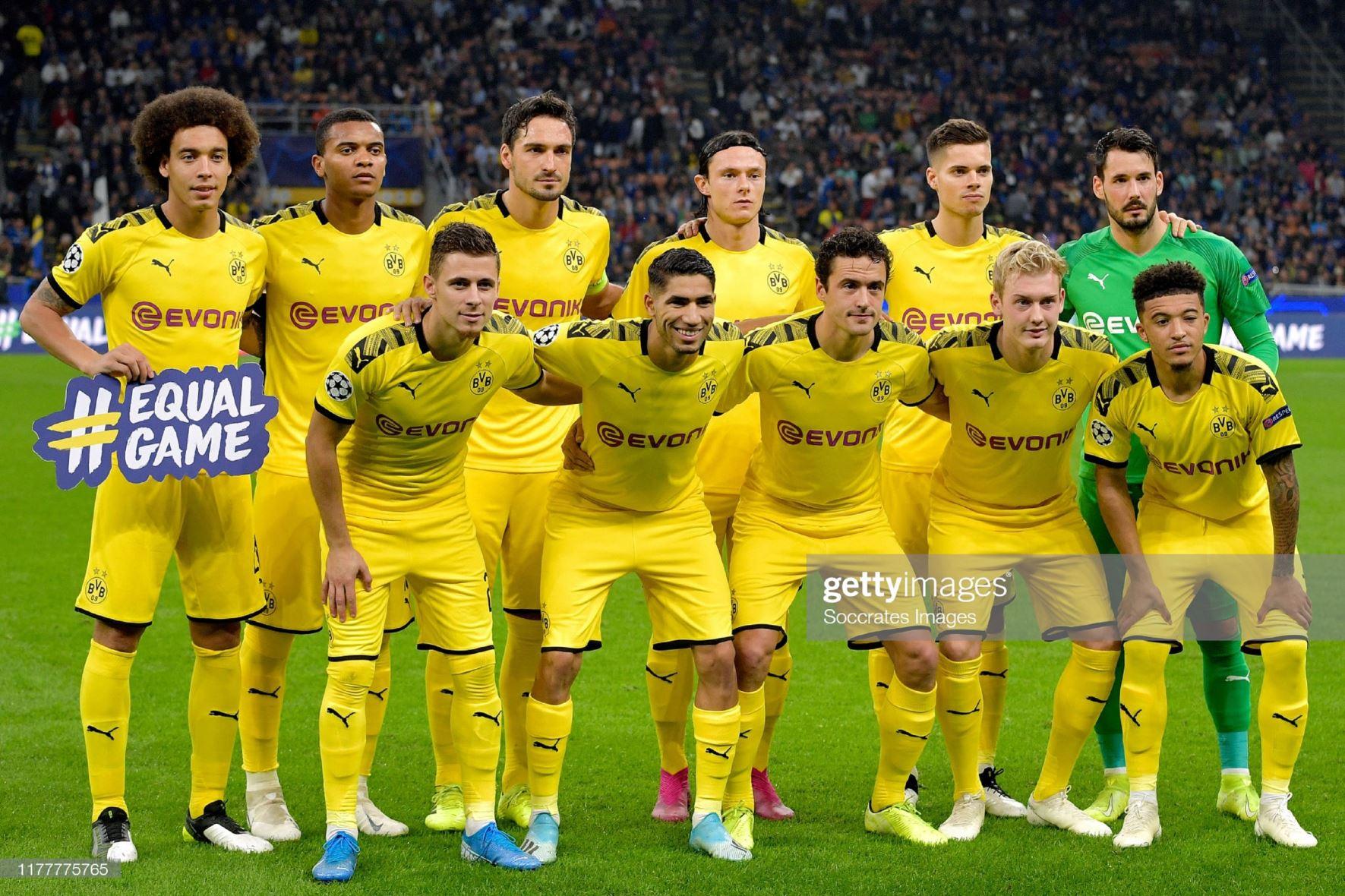Интер (Италия) - Боруссия Дортмунд (Германия) 2:0. Нажмите, чтобы посмотреть истинный размер рисунка