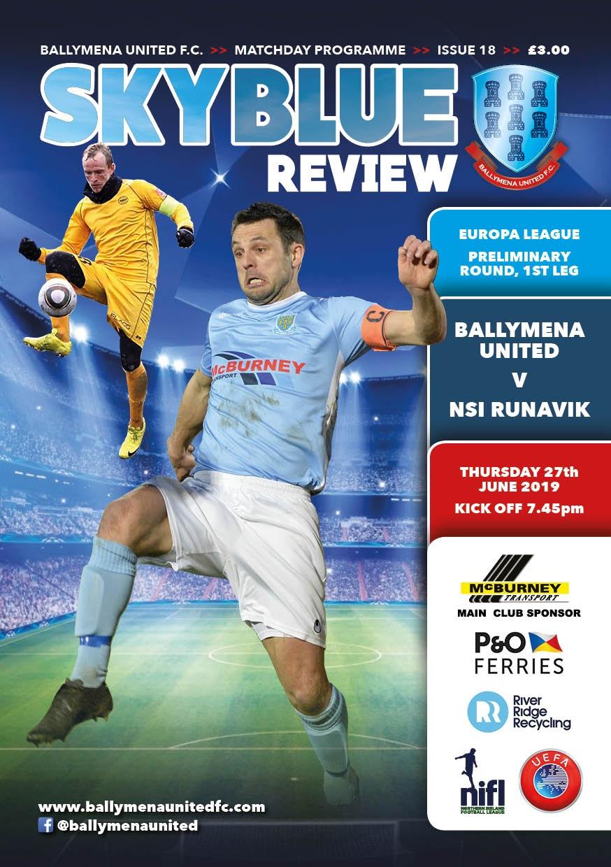 Баллимена Юнайтед (Северная Ирландия) - НСИ Рунавик (Фарерские острова) 2:0
