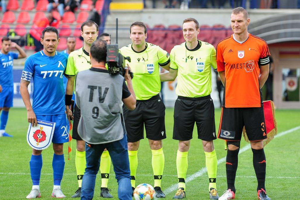 Ружомберок (Словакия) - Левски (Болгария) 0:2. Нажмите, чтобы посмотреть истинный размер рисунка