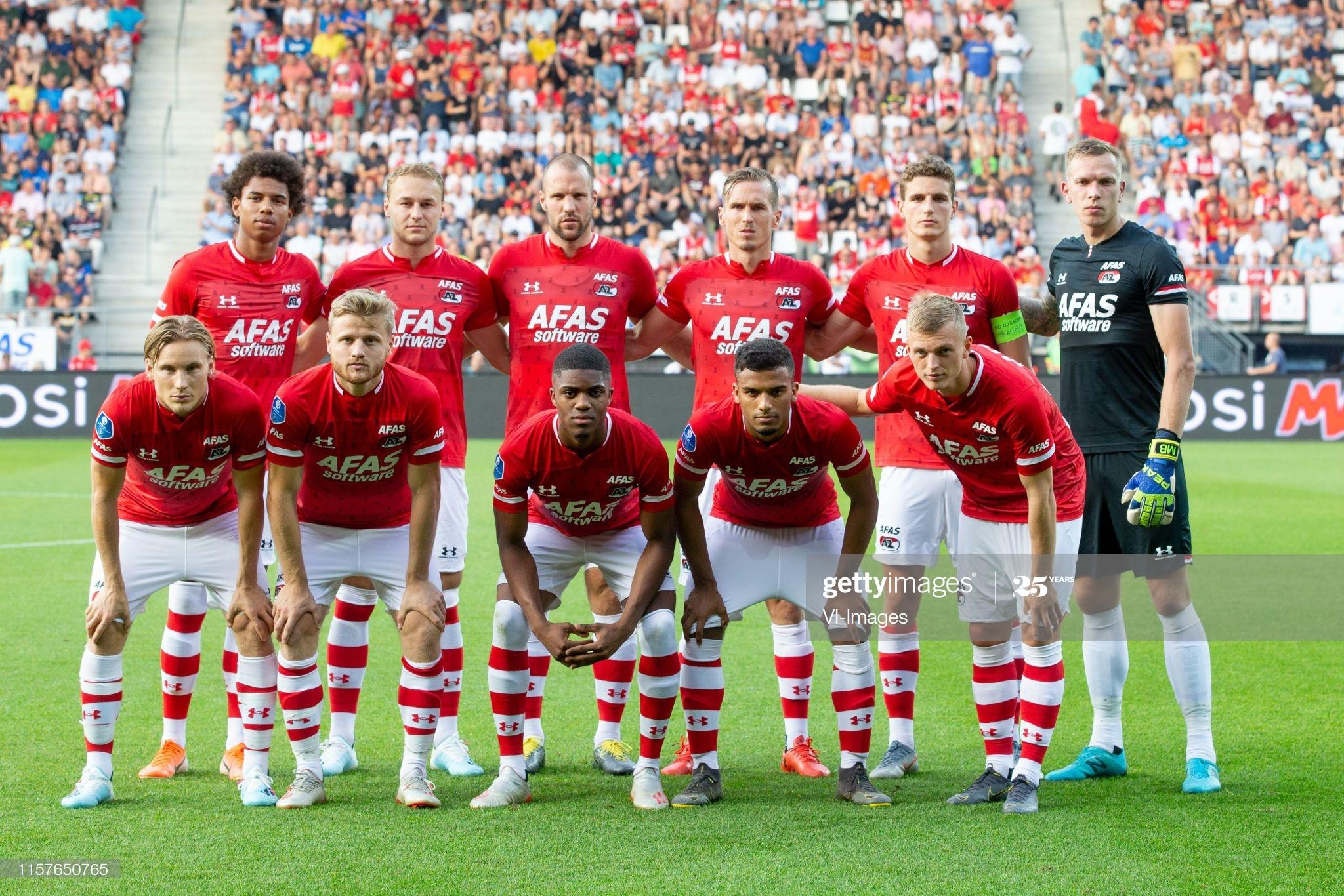 АЗ Алкмаар (Голландия) - Хеккен (Швеция) 0:0