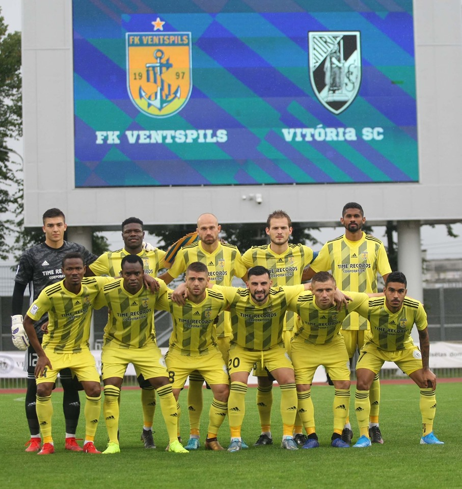 Вентспилс (Латвия) - Витория Гимараеш (Португалия) 0:3