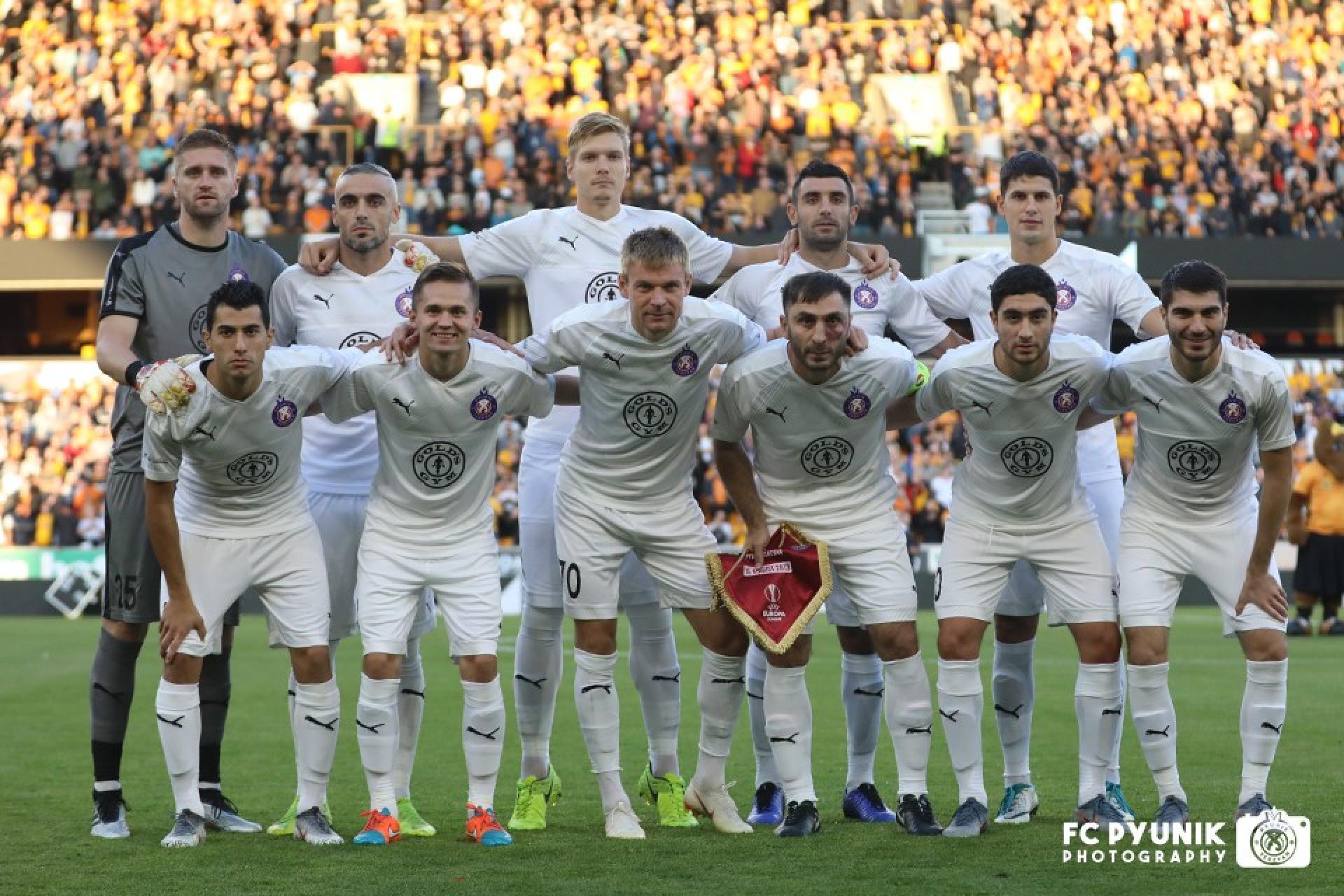 Вулверхэмптон Уондерерс (Англия) - Пюник (Армения) 4:0