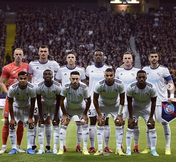 Айнтрахт Франкфурт (Германия) - Страсбург (Франция) 3:0