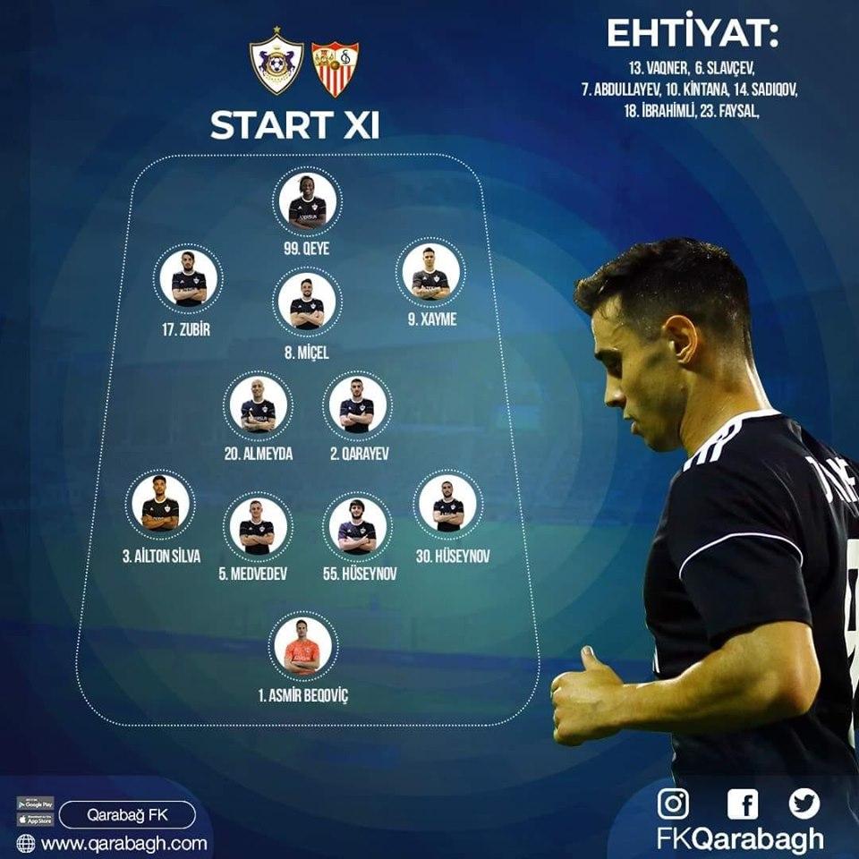 Карабах (Азербайджан) - Севилья (Испания) 0:3